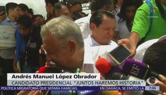 López Obrador admite haber dado contratos a Rioboó en la CDMX