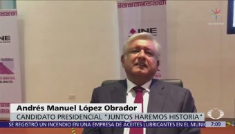 López Obrador dice sobre EPN que quiere justicia, no venganza