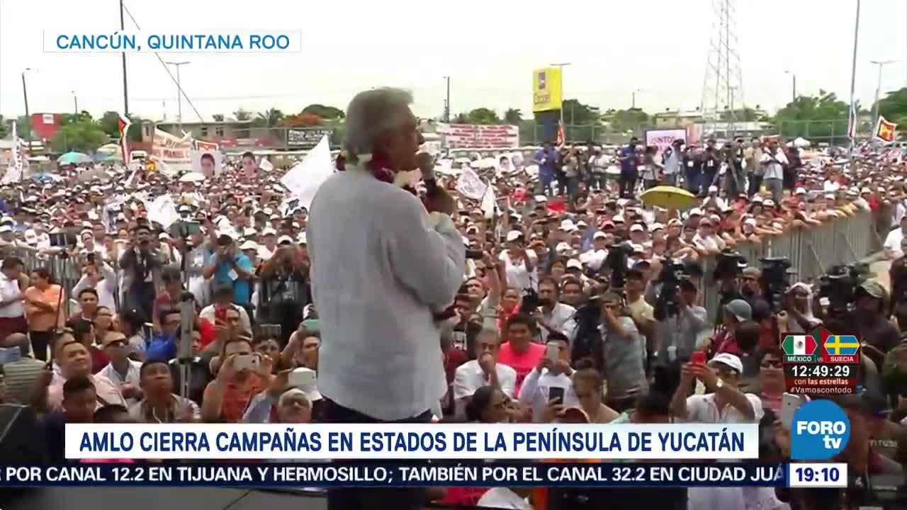López Obrador Ofrece Desarrollo Zonas Turísticas