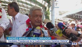 López Obrador Pide Candidatos Serenen