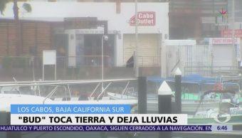 Tormenta 'Bud' Mantiene Lluvias Intensas Baja California Sur