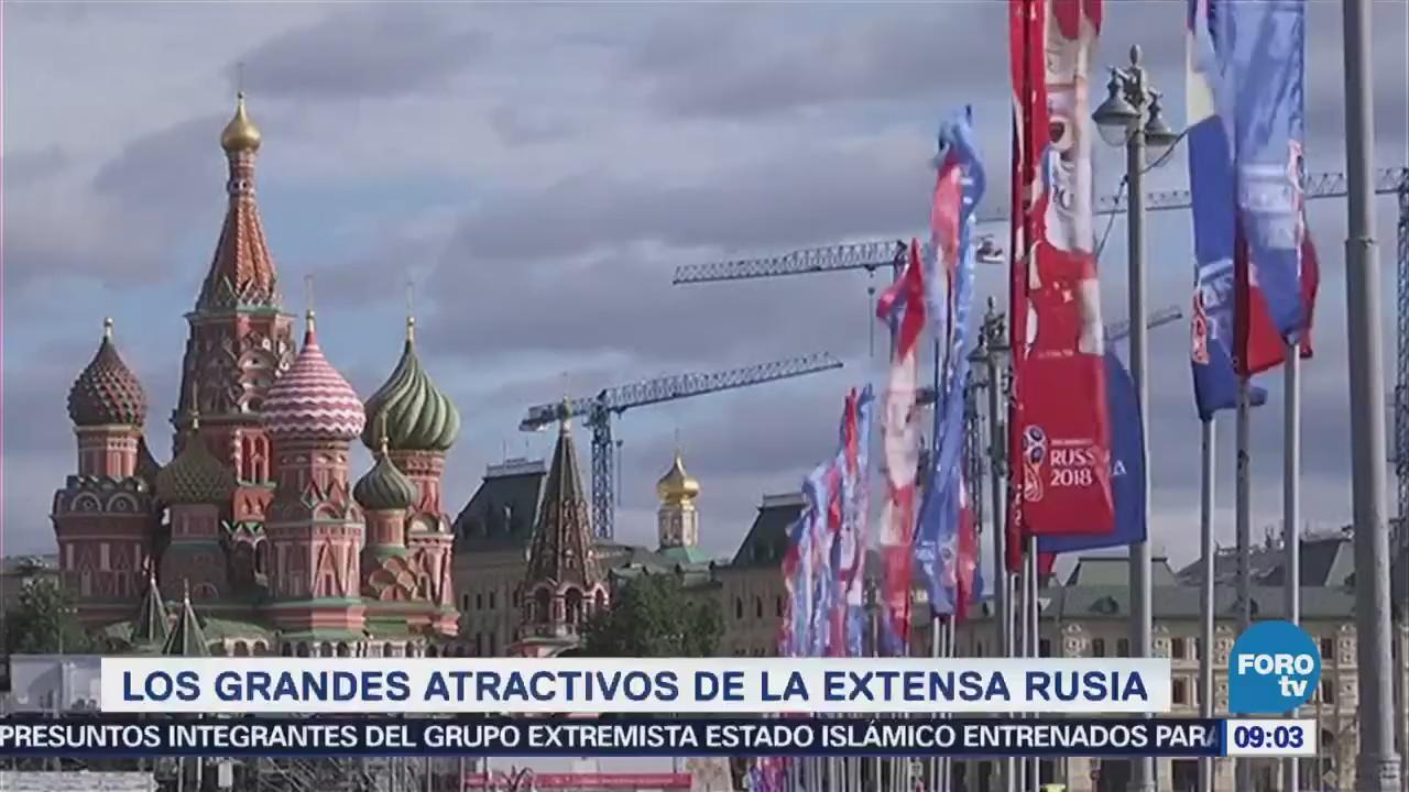 Los grandes atractivos de la extensa Rusia