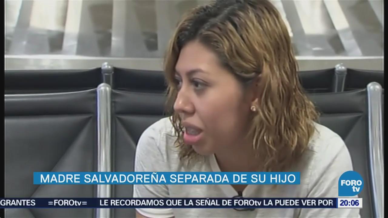 Madre Salvadoreña Reúne Hijo Separados Estados Unidos