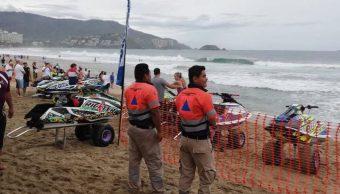 Prevén aumente intensidad de mar de fondo en Guerrero