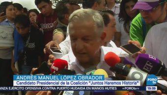 López Obrador Rechaza Señalamientos Relacionados Rioboo