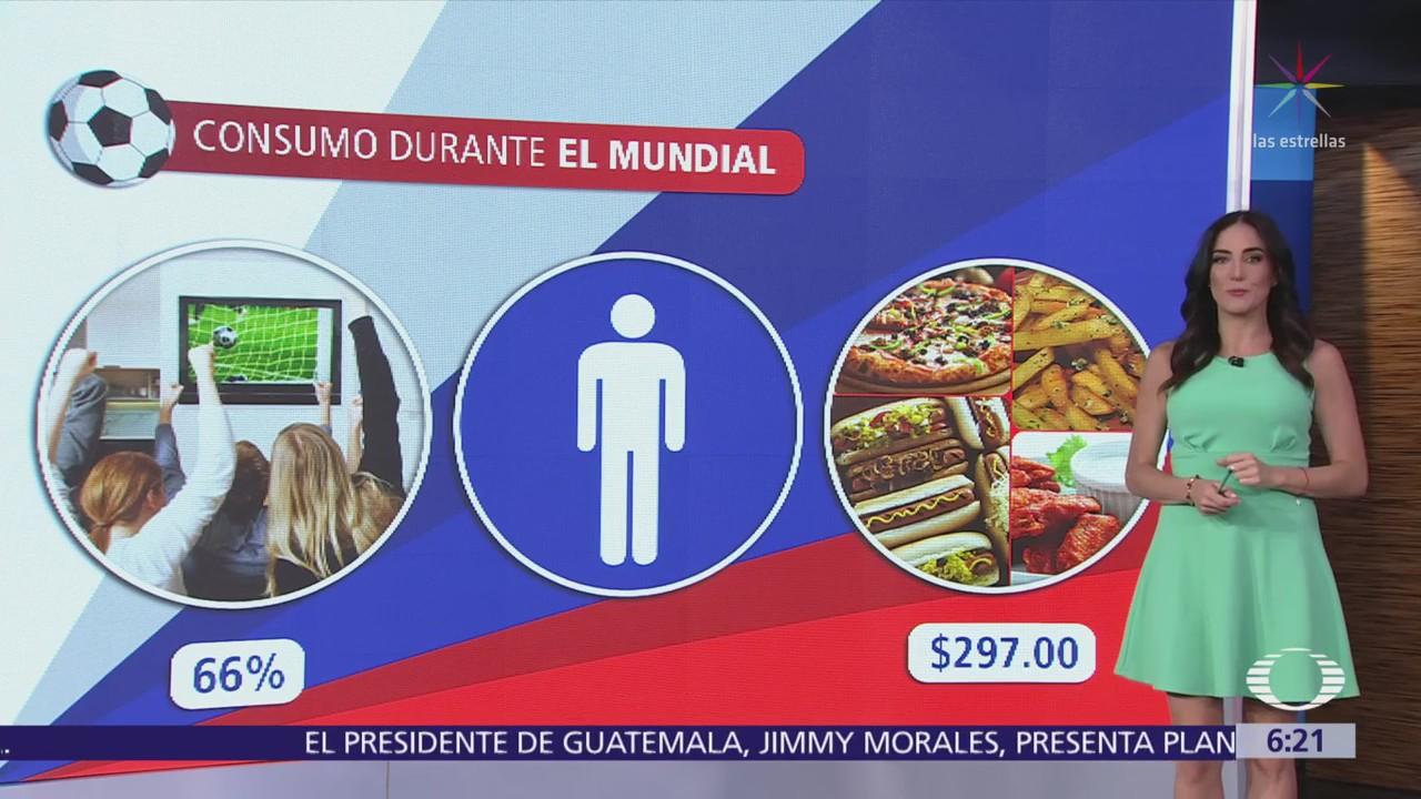 Mexicanos consumirán 34 rebanadas de pizza durante Mundial de Rusia