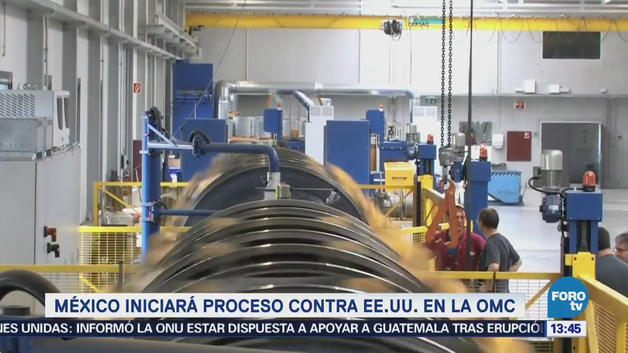 México Denunciará Eu Ante Omc Aranceles Metales