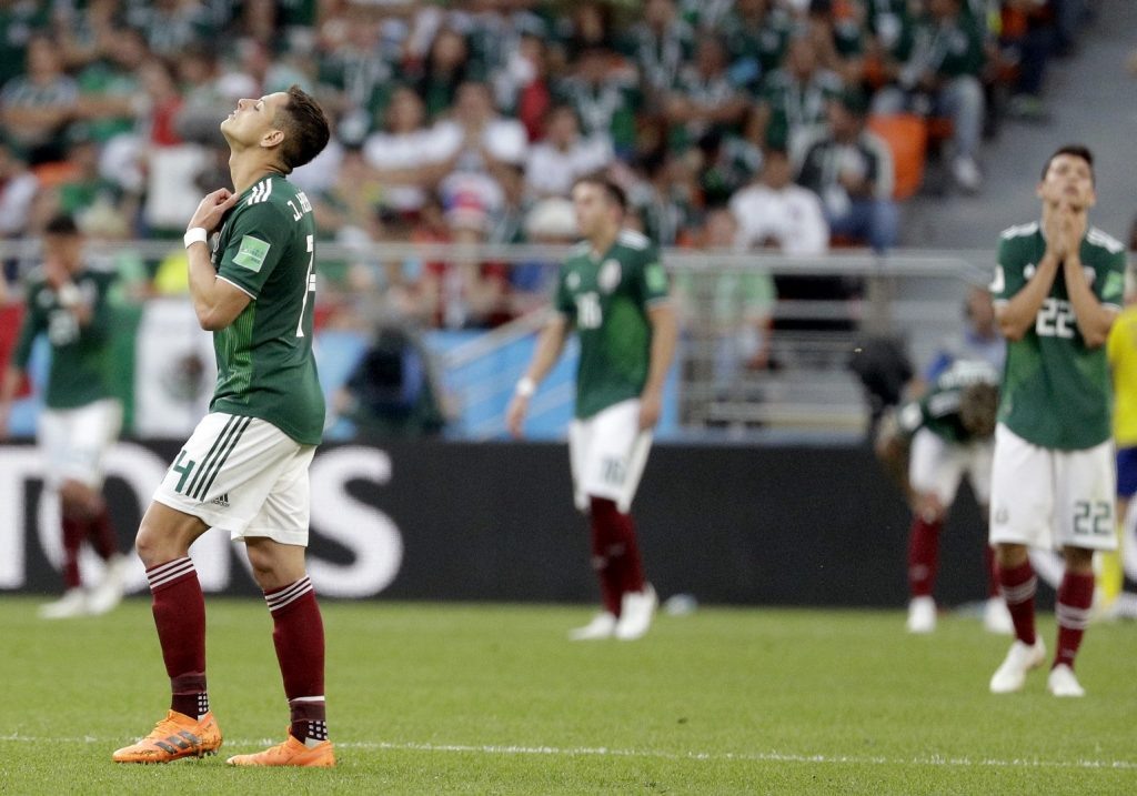 México pierde ante Suecia; pasa a octavos