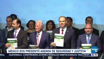 México SOS Presenta Agenda Seguridad Justicia