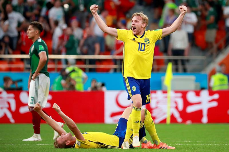 Mexico-Suecia-Mundial
