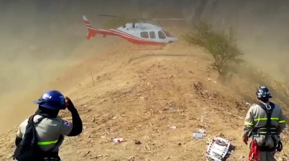Continúan labores de rescate en mina de Chihuahua
