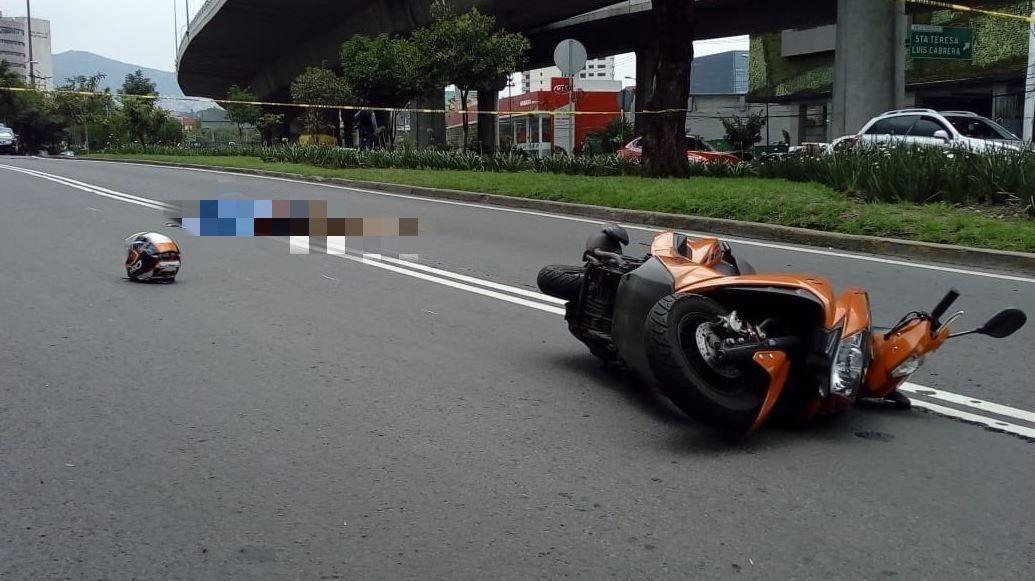 gobierno capitalino respondera muerte motociclista que cayo registro tapa