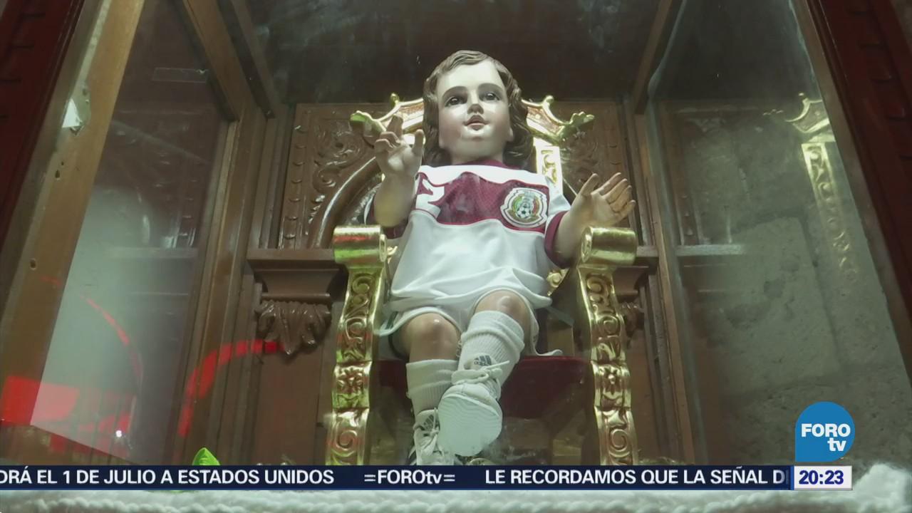 Niño Dios Futbolista México Barrio Tacuba
