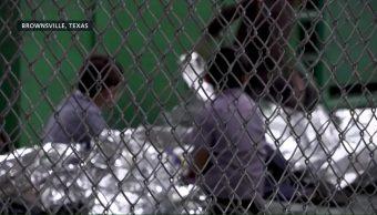 Niños Migrantes Llevados Brownsville Estados Unidos