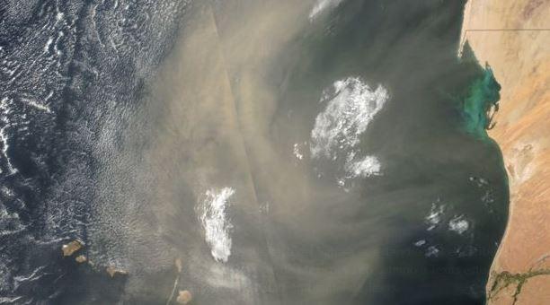Nube de polvo del Sahara afectará Texas