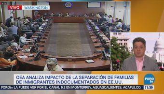 OEA analiza impacto de separación familias