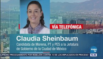 Claudia Sheinbaum Habla Proyecto Gobierno Cdmx