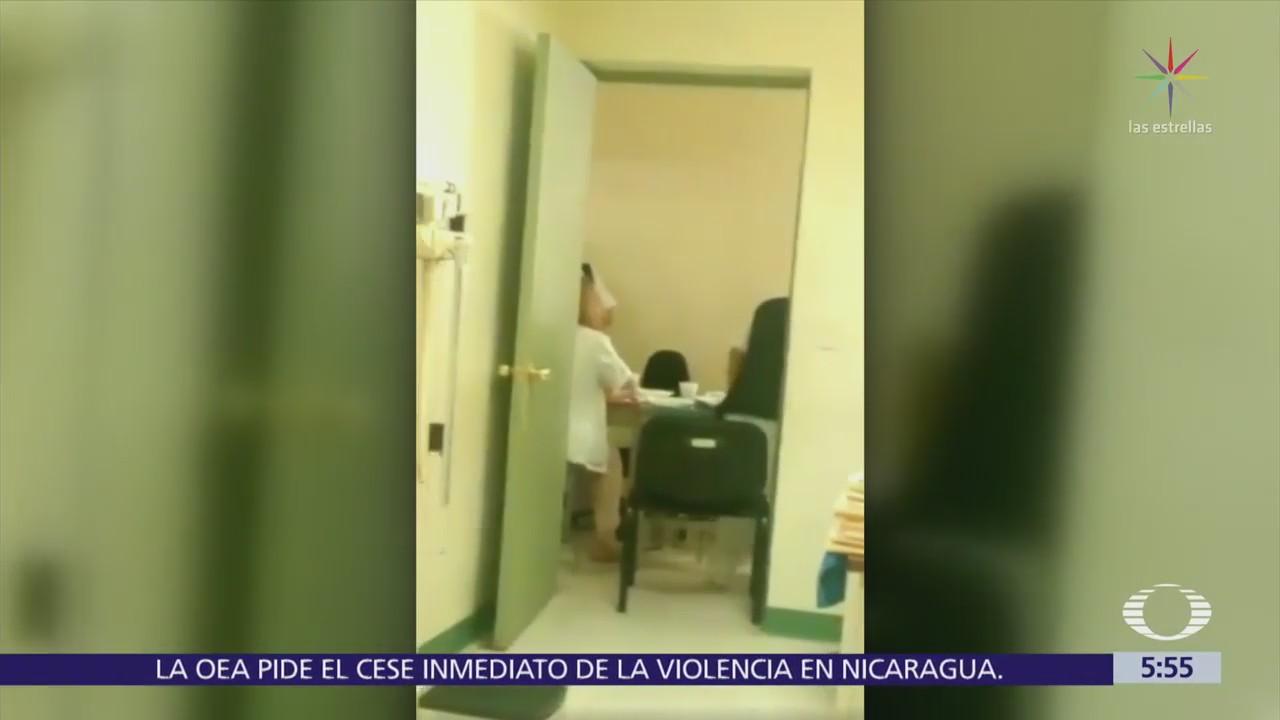 Pacientes de clínica en Edomex sorprenden a doctores en celebración