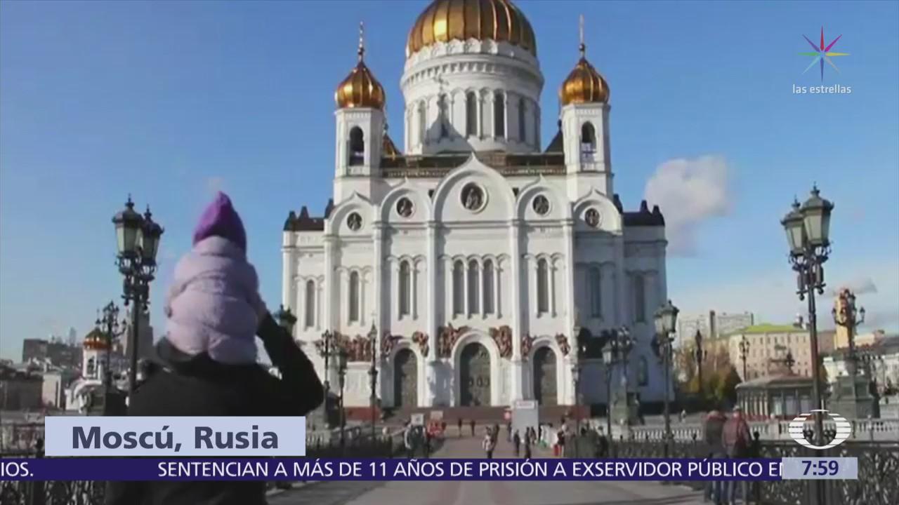 Paola Rojas transmite Al Aire desde Moscú