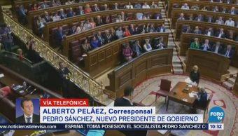 Pedro Sánchez, Nuevo Presidente Gobierno Español