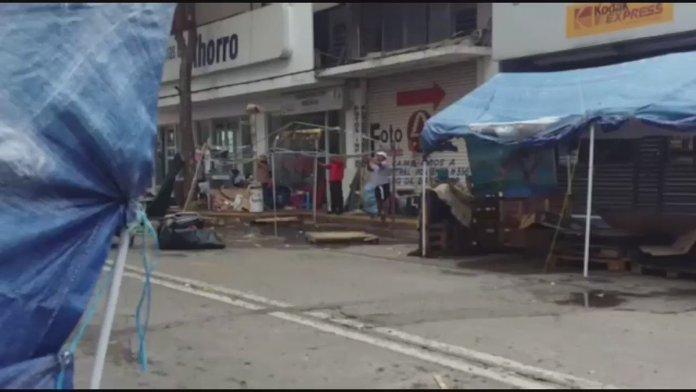 CNTE levanta plantón en centro de Tuxtla Gutiérrez, Chiapas