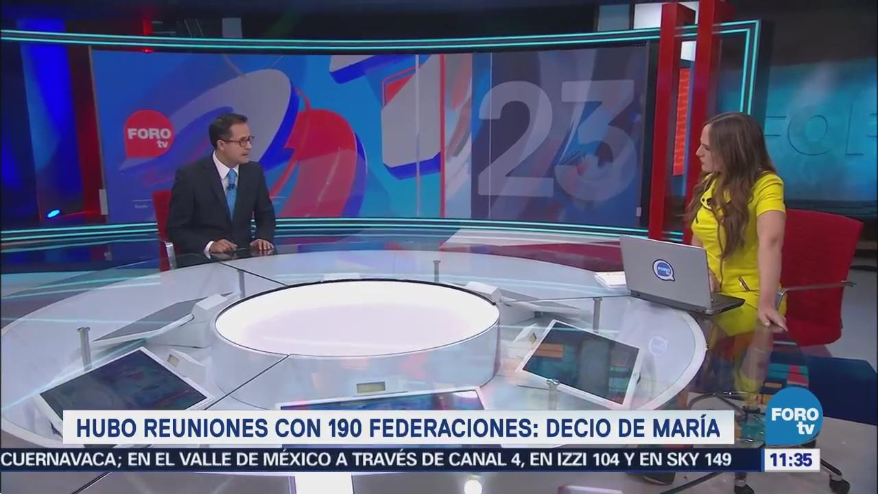 Podría haber más de 10 partidos en México durante Mundial 2026