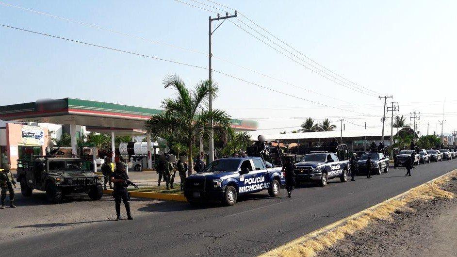 Inicia operativo para reforzar seguridad de Michoacán