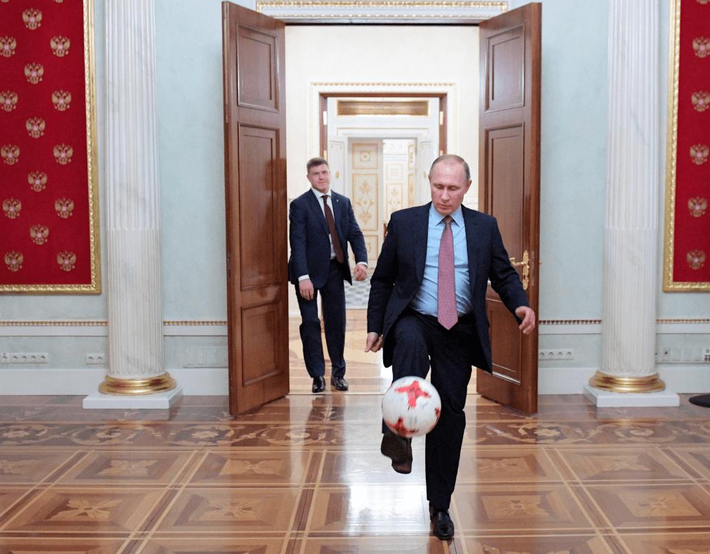 A Vladimir Putin, presidente de Rusia, no le gusta el futbol