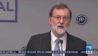 Rajoy anuncia que dejará Presidencia del Partido Popular