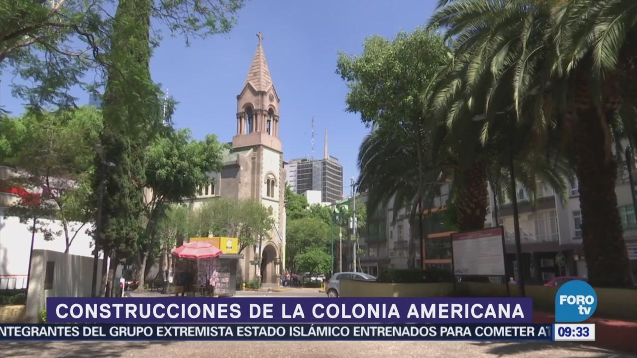 Recorra las calles de la colonia América