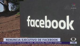 Renuncia Vicepresidente Facebook Tras Escándalo Uso Datos