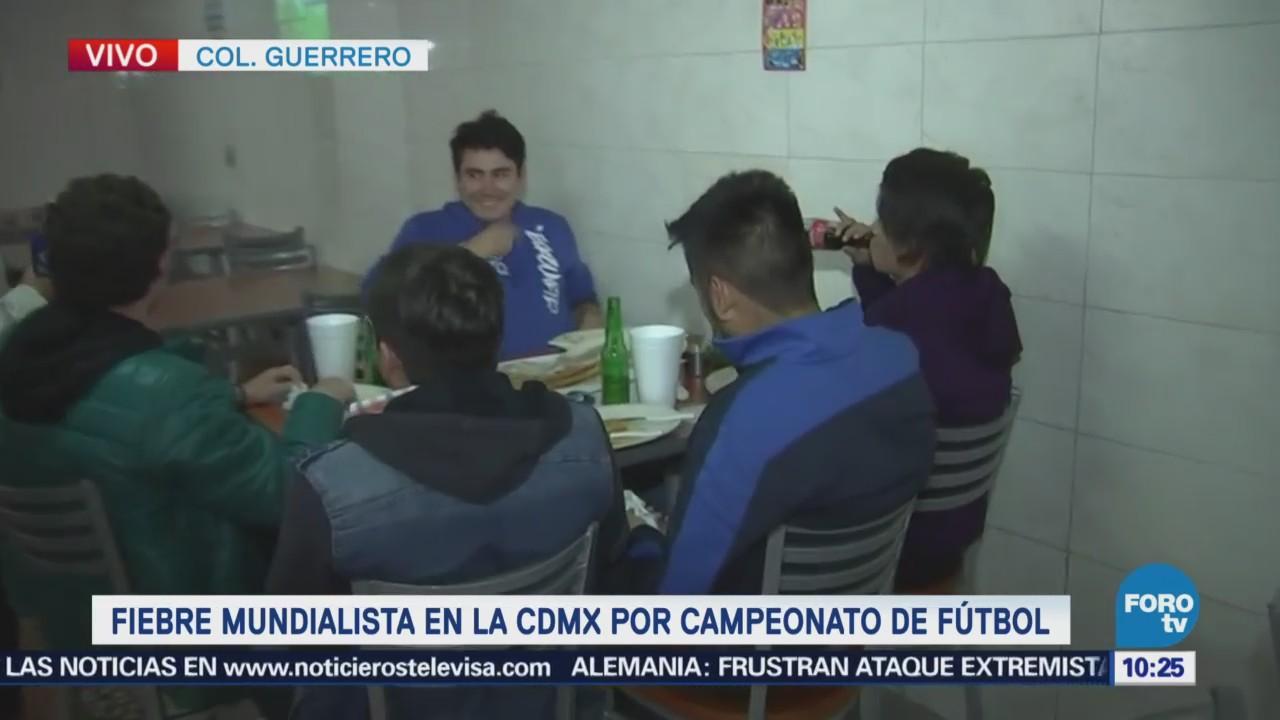 Restaurantes de la colonia Guerrero se alistan para el Mundial