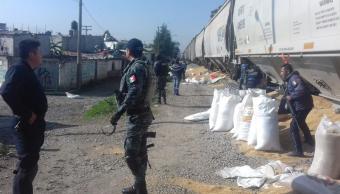Puebla confirma 32 robos a trenes en 2018