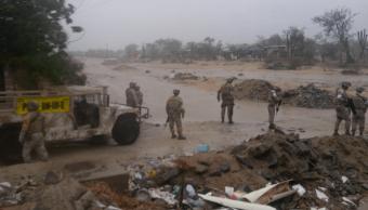 La tormenta Bud atraviesa Los Cabos; las clases siguen suspendidas