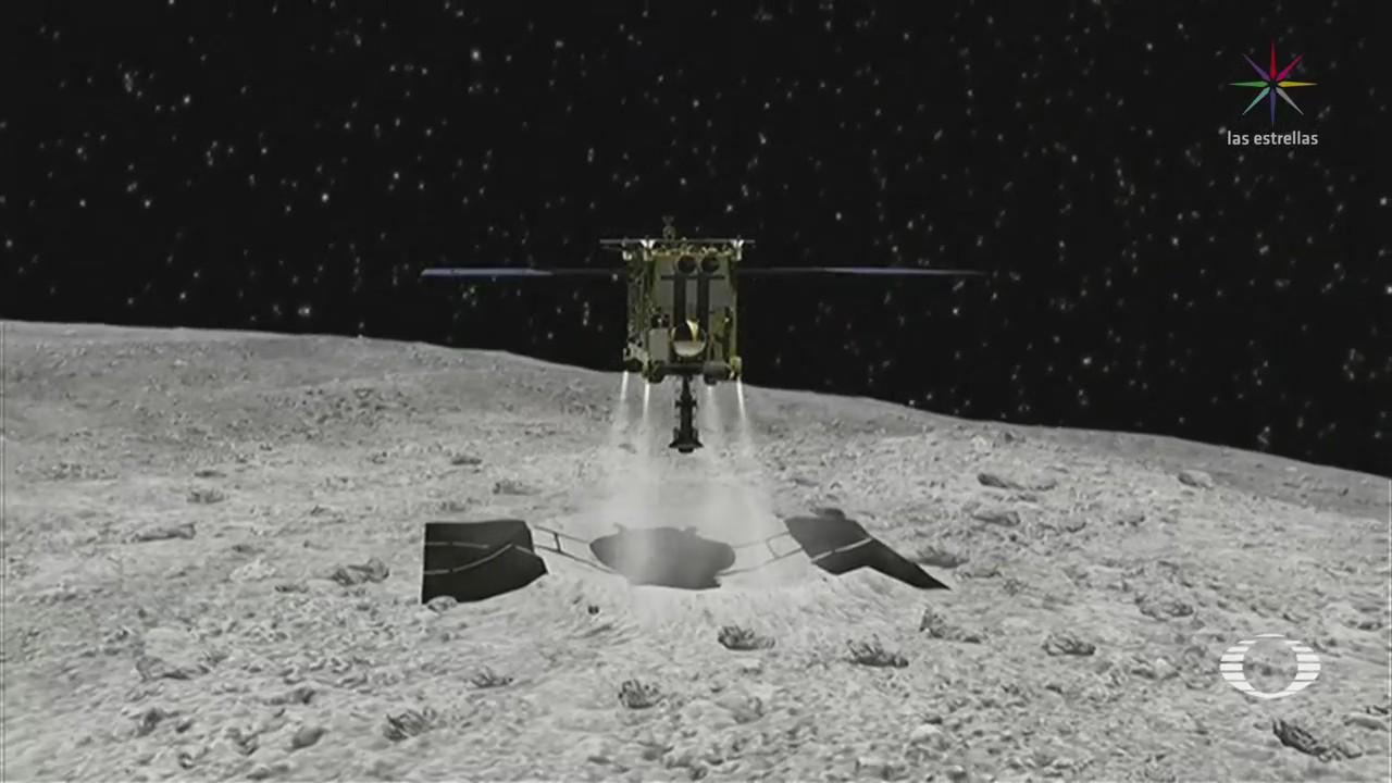 Sonda japonesa llega al asteroide Ryuugu