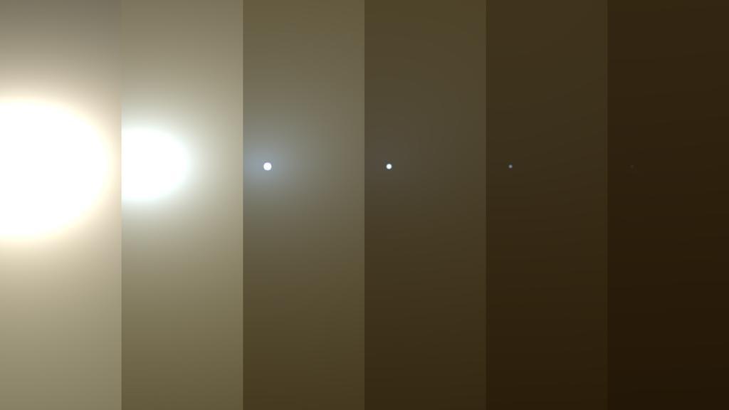 Tormenta polvo Marte deja batería sonda Opportunity