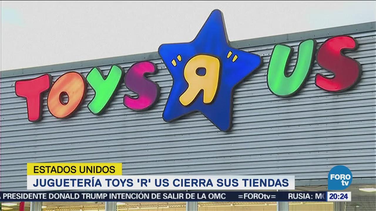 Toys 'R' Us Cierra Tiendas Estados Unidos