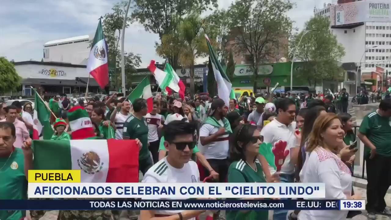 Triunfo Tri Desata Alegría País Futbol Selección Nacional