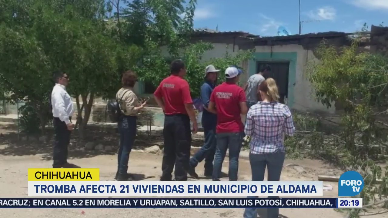Tromba Afecta Viviendas Municipio Chihuahua Aldama