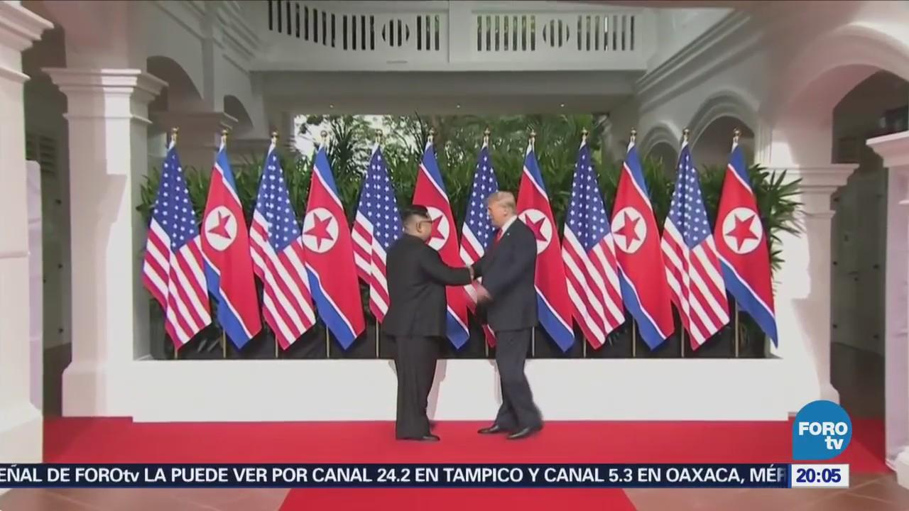 Trump, dispuesto a abrir embajada en Pyongyang