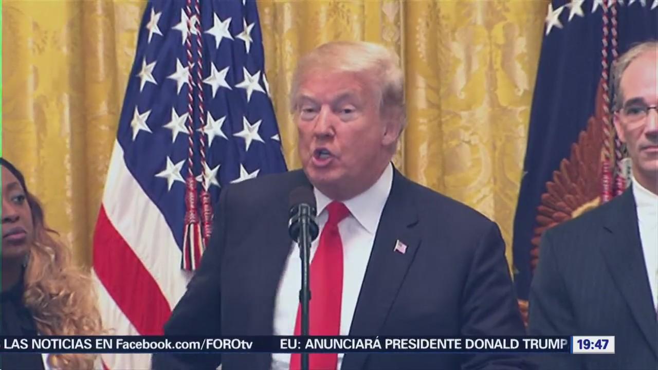Trump Niega Estados Unidos Retire OMC