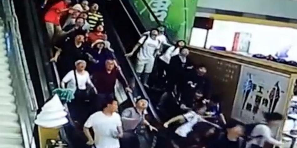 Personas Sepultadas Desplome Techo, Turistas Quedan Sepultados Desplome China, China, Accidentes, Desplome Techo, Techo