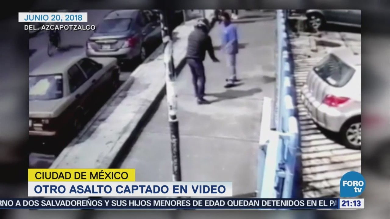 Video Exhibe Asalto Estación Aquiles Serdán