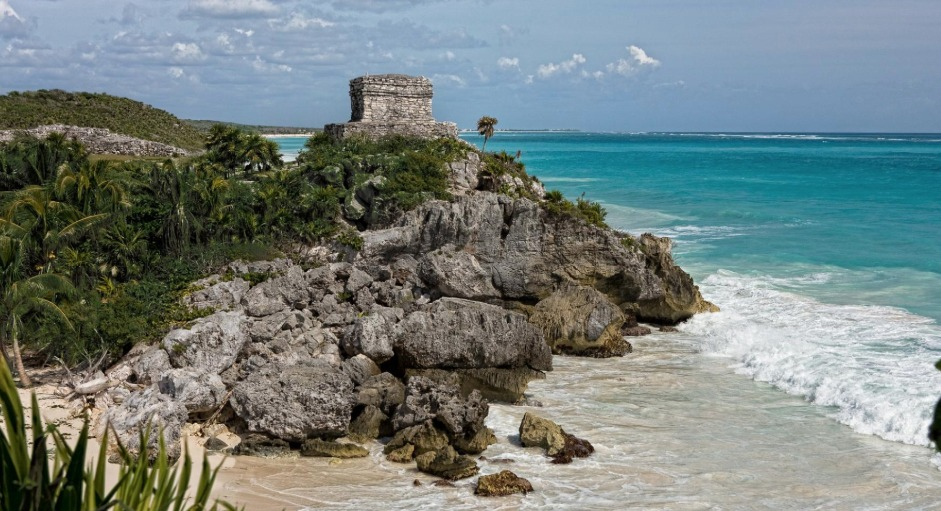 Tulum Playa bienestar social progreso Fotografía