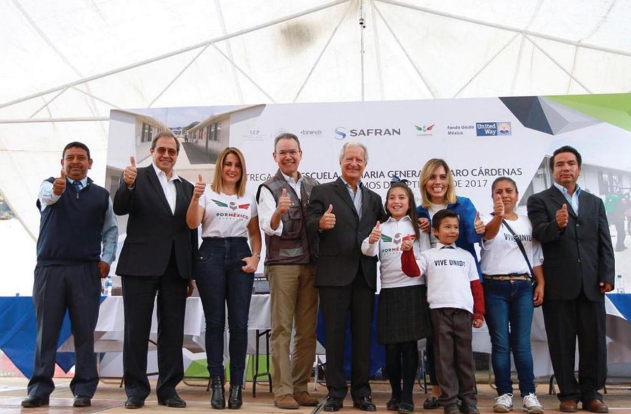 Gicsa agradece felicita fundación por México labor