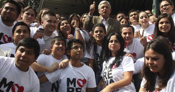 Jóvenes Morena Cean MRNA Movimiento Progresista