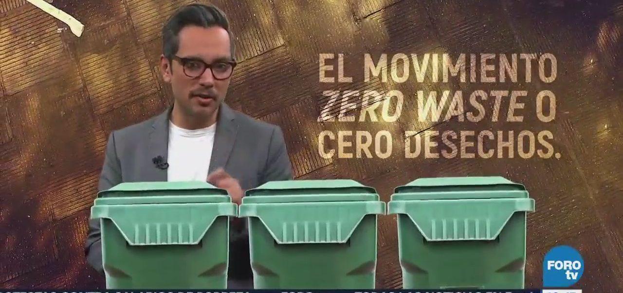 #DespejandoDudas Zero Waste cero desechos explica consiste