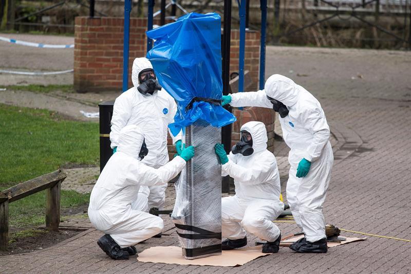 Identifican a sospechosos del ataque contra los Skripal