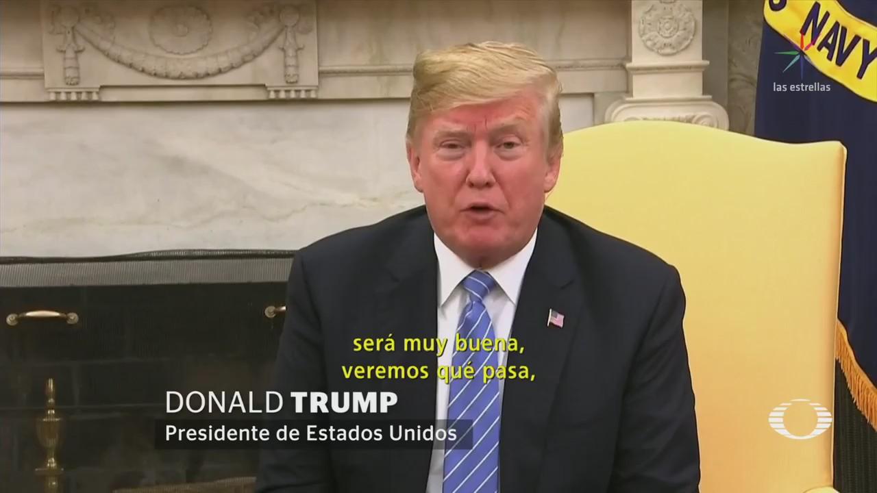 AMLO y Trump sostiene comunicación telefónica
