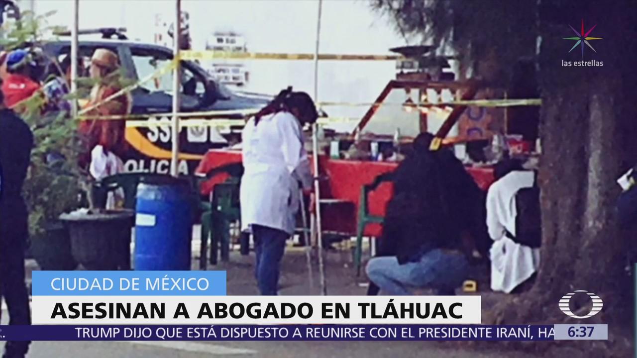 Asesinan a un abogado ligado al Cártel de Tláhuac
